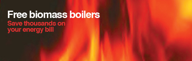 Free biomass boilers, save thousands on your energy bill